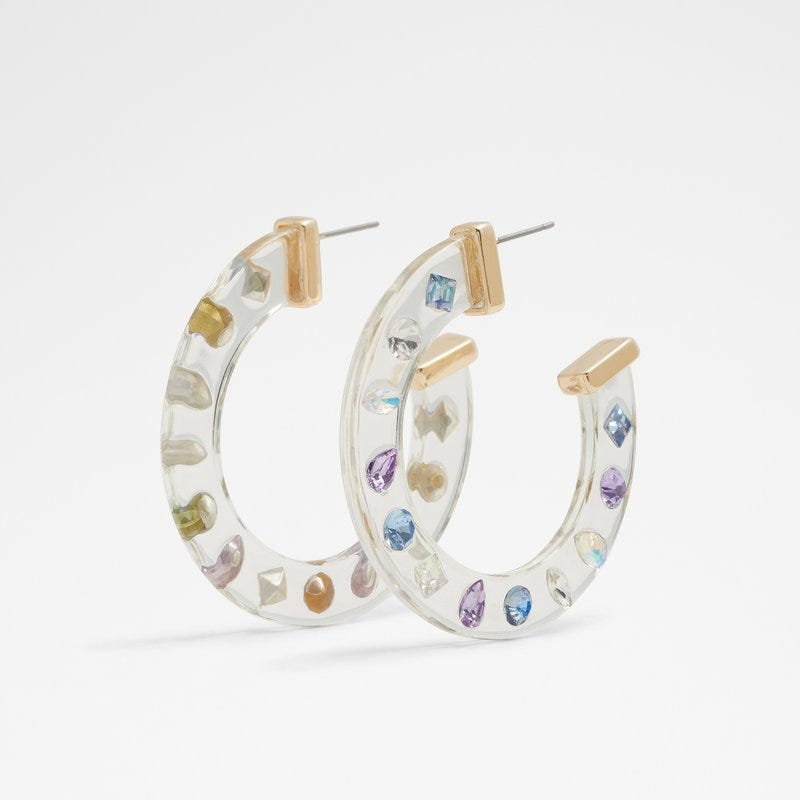 Accessories | Earrings: Dancing-hoop